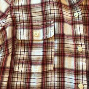 Old Navy Plaid Button Down Women's L/S S